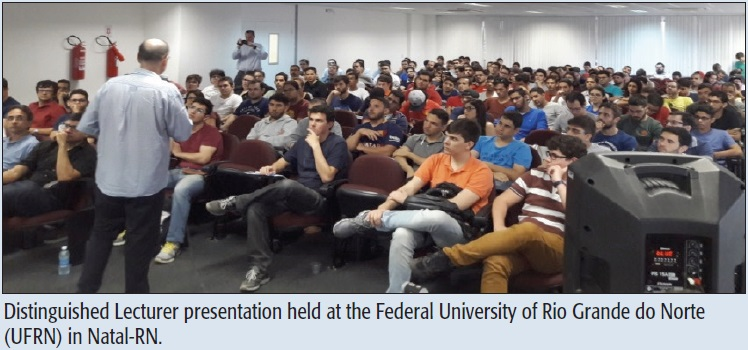 Distinguished Lecturer presentation held at the Federal University of Rio Grande do Norte (UFRN) in Natal-RN.