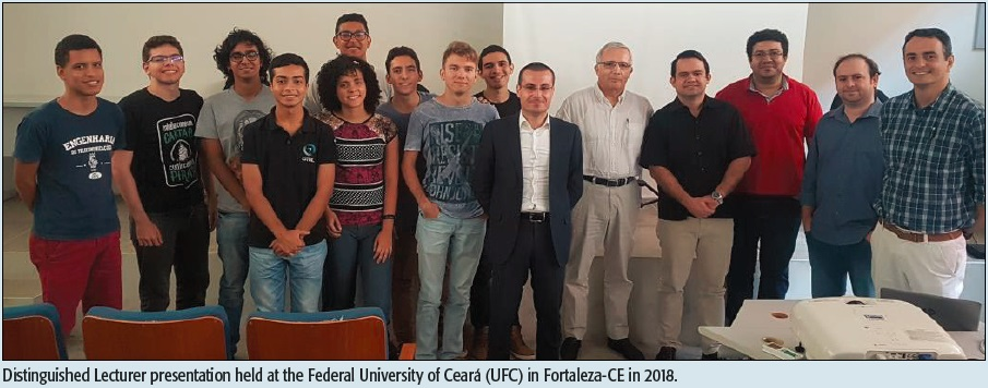 Distinguished Lecturer presentation held at the Federal University of Ceará (UFC) in Fortaleza-CE in 2018.