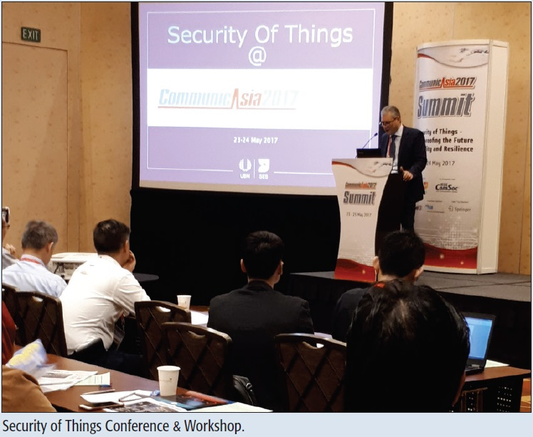 Security of Things Conference & Workshop.